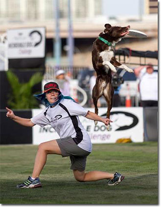 McNab disc dog